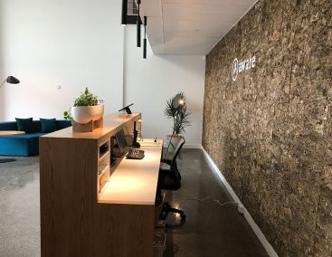 Cork Mato Feature Wall at Design Space