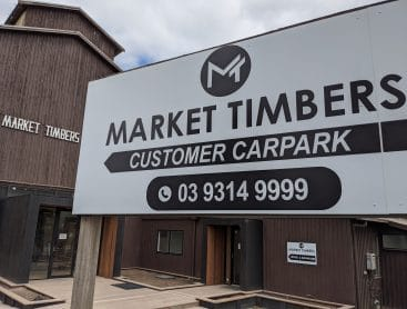 Market timbers front